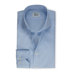 Stenstrøms Skjorte Blåstribet (Blue Pinstriped Fitted Body Shirt)