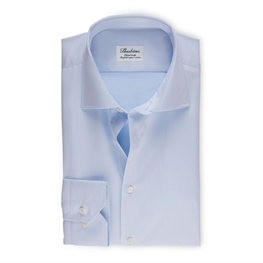 Stenstrøms Skjorte Lyseblå (Light Blue Fitted Body Shirt InTwill)