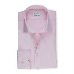Stenstrøms Skjorte Lyserød (Light Pink Fitted Body Shirt In Twill)