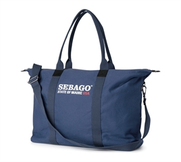 Sebago Taske Mørkeblå (Maine Canvas Tote Bag M)